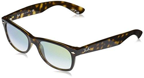 Ray-Ban Junior Unisex-Erwachsene 0RB2132 710/Y0 52 Sonnenbrille, Havana/Cleargradientgold