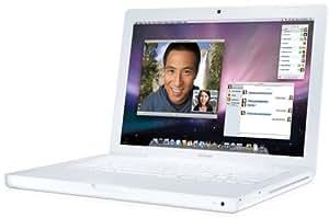 Apple MacBook MB402 13,3 Zoll Notebook weiß (Intel Core 2 Duo 2,1GHz, 1GB RAM, 120GB HDD, DVD+- DL RW, Mac OS X)