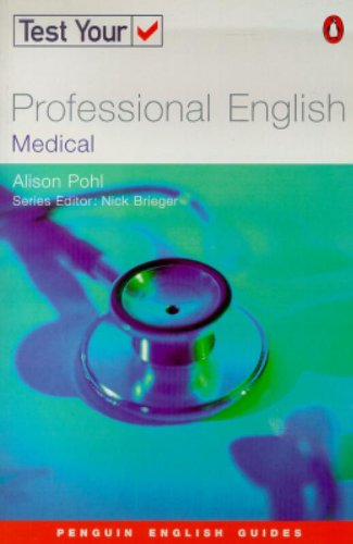 Test Your Professional English: Medicine (Penguin Joint Venture Readers)