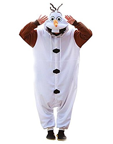 nder Schneeman Kostüm - Fasching Karneval Party (Frozen Olaf Kostüm)