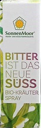 Preisvergleich Produktbild Sonnenmoor: Bitter ist das neue Süss,  Bio-Kräuterspray,  2 x 20 ml
