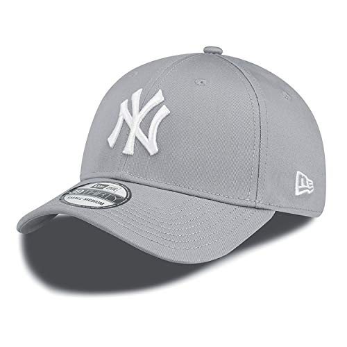 New Era New York Yankees Stretch Fit Cap Grey 3930 39thirty Curved Visor L XL
