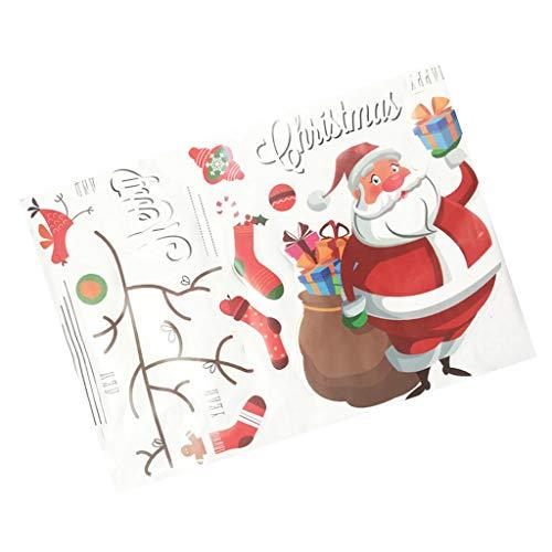 ensteraufkleber Fenstersticker Glastür Aufkleber/Sticker Weihnachten Aufkleber für Party Supermarkt Café Bar usw. ()