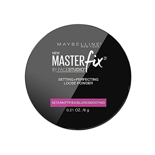 Maybelline Master Fix Translucent Powder, farbloses Puder, fixiert das Make-up und mattiert den...