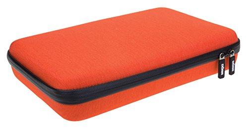 Dörr 431153 Hardcase GPX GoPro Hero 2/3/3+/4 für Kamera, Gehäuse und Zubehör (Größe:L) orange