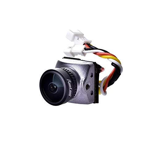 Absir Runcam Racer Nano CMOS 700TVL 1,8 mm / 2,1 mm Super WDR Cámara FPV más pequeña Control de Gestos de Baja latencia de 6 ms OSD Integrado para FPV Racer Drone 1.8MM KSX3376