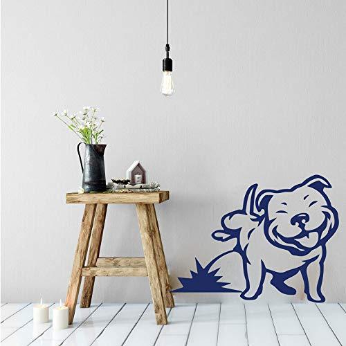 hetingyue Natursekt Hund Wandaufkleber Schlafzimmer Wohnzimmer Haustier Hund Welpen Urinal Zimmer Wandtattoo Kinderzimmer Spielzimmer 67x51cm