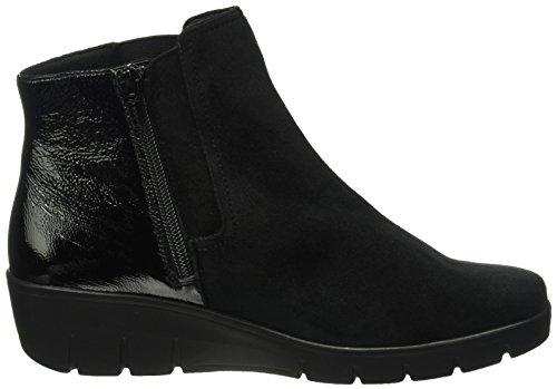 Semler Damen Judith Chelsea Boots Schwarz (001 schwarz)