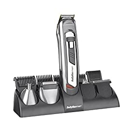 - 41 2BgA4m7y7L - BaByliss 7235U 10-in-1 Grooming System for Men