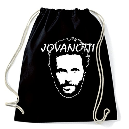 Art T-shirt, Zaino Sacca Lorenzo Jovanotti, Nero