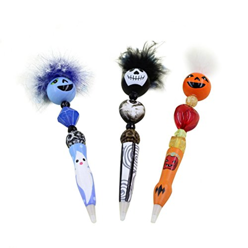 Toymytoy penna a sfera jotter original punta media confezione 3 penne di halloween per ufficio regalo bambini kid