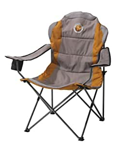 Grand Canyon  308012 Comfort - chaise de camping pliante, acier, grise/orange