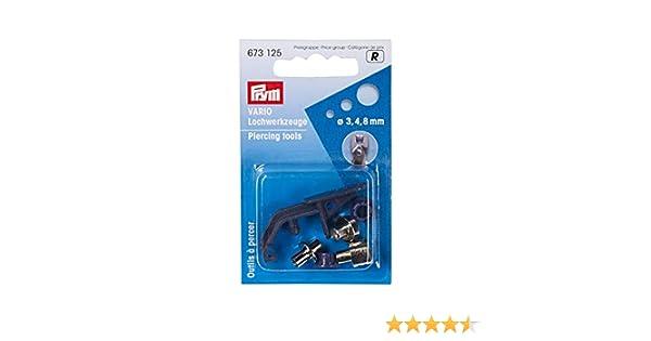 PRYM strumento Foro per Pinza vario 3 4 e 8 mm  673125