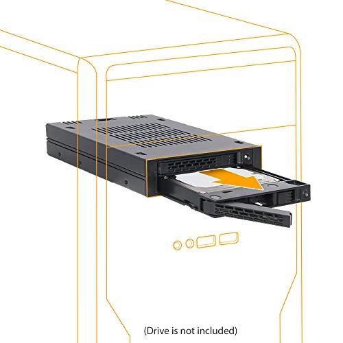 ICY DOCK MB742SP-B ExpressCage Wechselrahmen für Festplatten und SSDs Schwarz