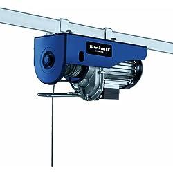 Einhell BT-EH 500 - Polipasto 500 kg (1000 W, cable sencillo: 11,5 m, cable doble: 5,7 mm, carga cable sencillo: 250 kg, carga cable doble: 500 kg)