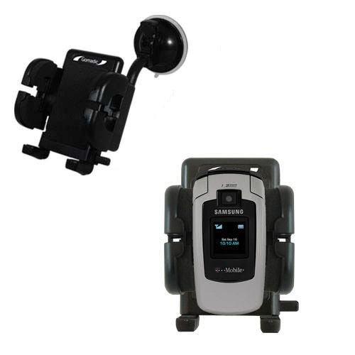 Samsung SGH-T619 Windschutzscheibenhalterung für KFZ / Auto - Cradle-Halter mit flexibler Saughalterung für Fahrzeuge