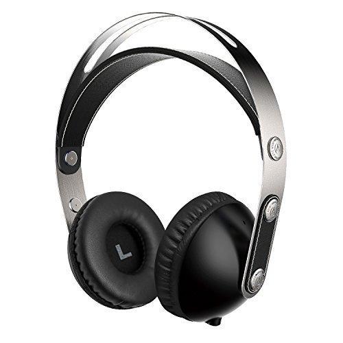 Suono Intone 2015 Recentemente WZ-01 Musica Hi-Fi cuffie stereo per bambini o adulti Facile bagagli con staccabile 3,5 millimetri cavo audio, leggero e portatile con Audio HD, compatibile con iPad, iPhone, Samsung, PC, laptop (Nero)