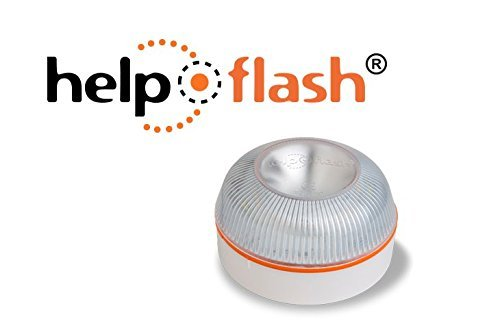 Help Flash YR-42WR-PIOM - Baliza Luminosa de Emergencia autónoma, Color Blanco