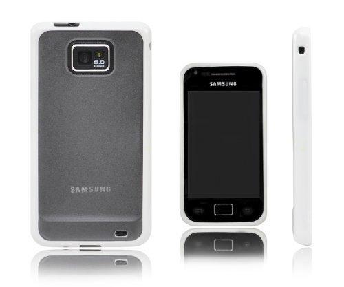 Xcessor Impact Schutzhülle Für Samsung Galaxy S2 i9100 weiß Sg Shell Gel