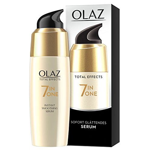 Olaz Total Effects Anti-Ageing Sofort Glättendes Serum, 50 ml