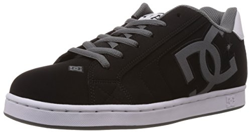 Dc Shoes Net M, Baskets mode homme Noir - Black/White/Grey