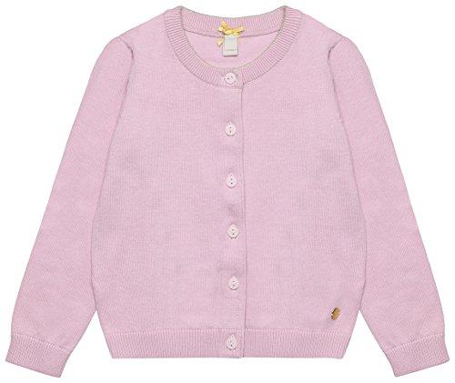 ESPRIT Kids Mädchen Strickjacke RL1800312, Rosa (Pastel Pink 312), 92 (Herstellergröße: 92/98)