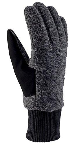 viking Multifunktions Handschuhe aus Wolle Damen Winter - extra warm - ideal für Wanderungen, Langlauf, Eislaufen, Radfahren - Alta, 08 grau, 6 Warme Wolle Handschuhe