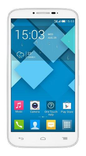 Alcatel One Touch Pop C9 Smartphone, Dual SIM, 4 GB, Bianco [Italia]