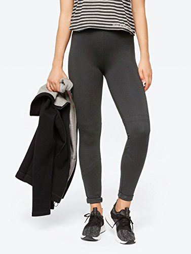 Bench Leggins mit breitem Elastikbund Winter Antracite Marl S