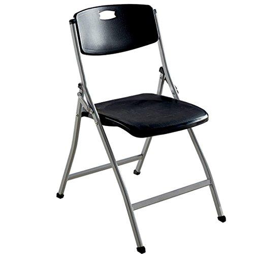Chair QL Klappstühlen Folding Schwammkissen Rückenlehne Klappstuhl Falten bequem Computer Stuhl/Konferenzstuhl (Größe: 42 * 55 * 90cm) Restaurant Klappstühle (Farbe : F)