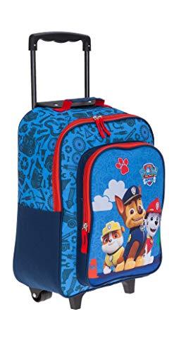 Kindertrolley Kinderkoffer Jungen Mädchen Paw Patrol Kindergepäck Blue Chase 20563 + Eisbär (Tier-rucksack Mit Rädern)