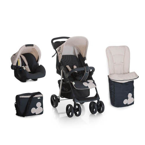 New Hauck Disney Classic Mickey mouse Shopper Pushchair Buggy Pram Shop n Drive Travel System+car seat+changing bag+cosytoes+raincover 41 2BgIjWCJNL