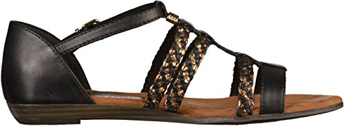 Tamaris 1-28108-28 femmes Sandale Noir