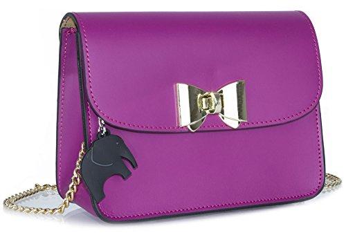 Big Handbag Shop - Borsa a tracolla donna Violet