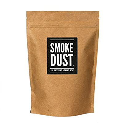 Smoke Dust - All Purpose Seasoning & BBQ Rub -For Succulent & Smoky Meat - Large Pack (225g) by Nifty Kitchen