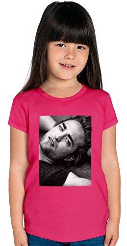 Robert Pattinson Portrait Girls T-shirt 10/12 yrs -
