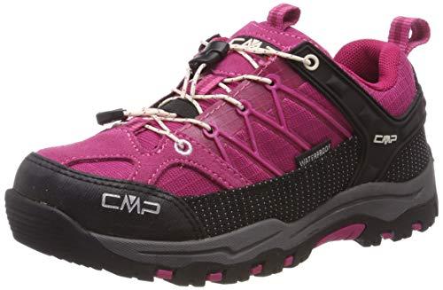 CMP Unisex-Kinder Rigel Low Trekking- & Wanderhalbschuhe Pink (Geranio-Off White 10hc) 29 EU