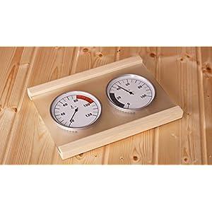 KARIBU Klimamessstation Premium, mit Thermometer und Hygrometer