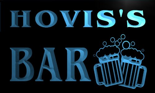 cartel-luminoso-w008291-b-hovis-name-home-bar-pub-beer-mugs-cheers-neon-light-sign