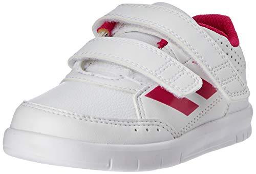 Adidas Altasport CF I, Alpargatas Unisex Niños, Blanco White/Pink, 25 EU