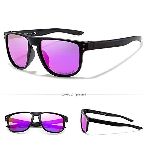 24 JOYAS Sonnenbrille Surf Sport polarisiert mit Etui und Reinigungstuch für Damen und Herren, 24-AC-45, Pink, 24-AC-45