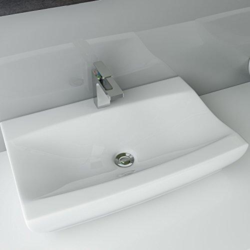 Design Keramik Aufsatzwaschbecken für Gäste-WC