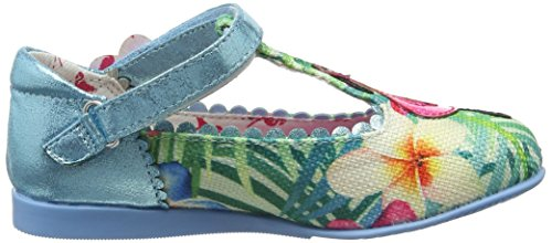 Irregular Choice Flamingo, Mary janes fille Multicolore (Blue)