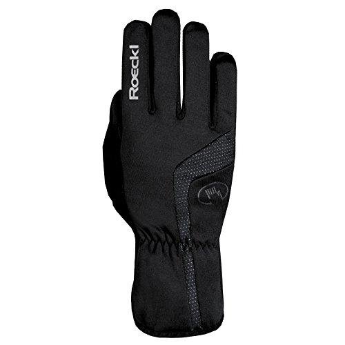 Roeckl Reinbek Winter Fahrrad Handschuhe lang schwarz: Größe: 9