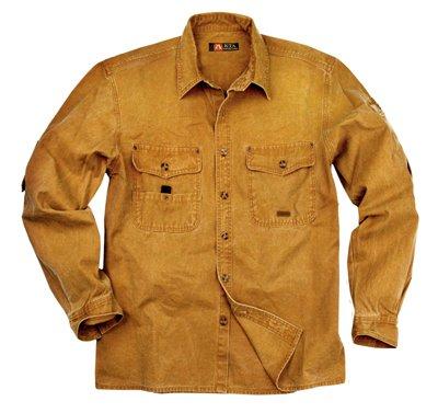 Kakadu Traders Herren Outdoor Hemd Toorak Mustard X-Large