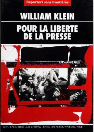 REPORTERS SANS FRONTIERES - WILLIAM KLEIN - POUR LA LIBERTE DE LA PRESSE - WIN TIN - BIRMANIE - WIN TIN - BURMA