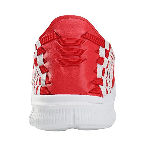 Alexis Leroy Balance, Low-Top Sneaker Scarpe da ginnastica Donna Rosso
