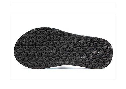 ALUK- Sommer Sandalen - Herren Hausschuhe Hausschuhe mit Europa und die Vereinigten Staaten Trend der Strand Schuhe ( Farbe : Blau , größe : 39 ) Blau