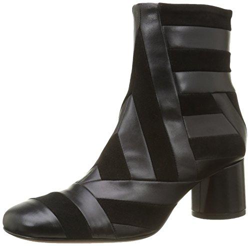 Kallisté5837.1 - Stivali a metà polpaccio con imbottitura leggera Donna , Nero (Nero (Nero)), 36 EU