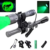 Best Rifle Scopes - Anekim 300 yard Green Hunting Flashlight 1 Mode Review